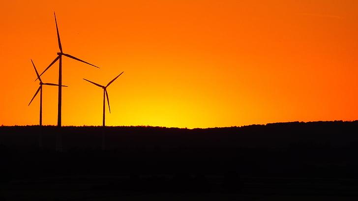 전력 발전, 에너지 생산, windräder, 풍력 발전, 신 재생 에너지, 에너지, 환경 기술