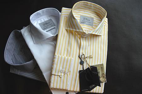 shirts, fashion, cotton, tie, shirt, clothing, business