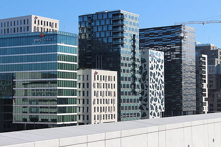 Oslo, kapital, Norge, arkitektur, Skandinavien, Steder af interesse, Bjørvika