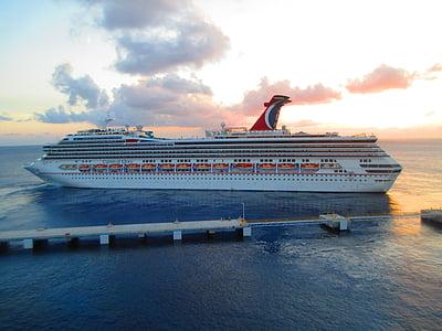 MV carnival glory, Carnival cruise, Ocean, havet, Karibien, semester, kryssningsfartyg