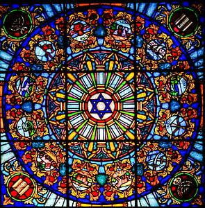 Vitrage, Gebrandschilderd glas, venster, kerk venster, kerk, religie, geloof