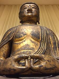 Buddha, socha, náboženství, amitābha, sochařství, Asie, starověké