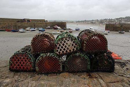 fishing, sea, ocean, water, nature, boat, fish
