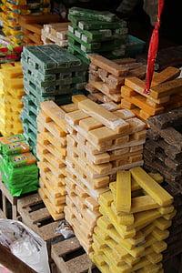 肥皂, 市场, 贸易, 出售, 集市上, 伊斯坦堡, 土耳其