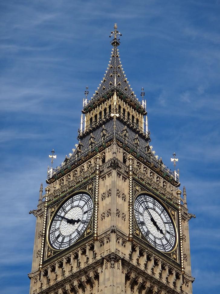 Big ben, Iso-Britannia, kirkko, rakennus
