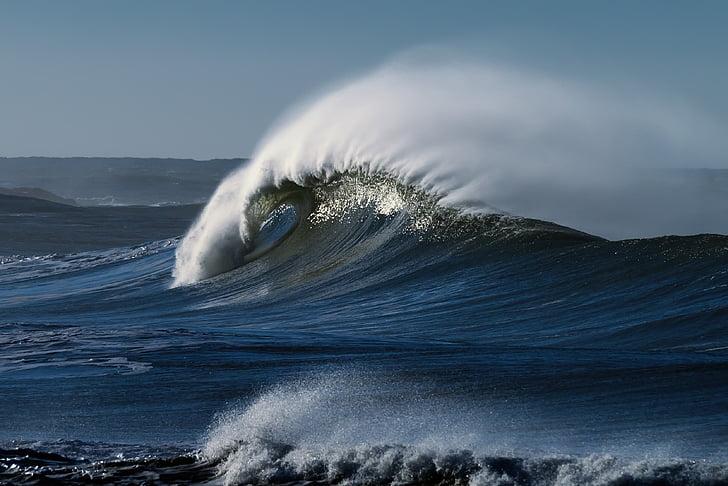 Playa, Costa del Pacífico, Océano, Costa, Pacífico, mar, paisaje marino