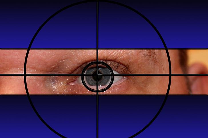 crosshair, visor, target, crime scene, crime, sniper, man