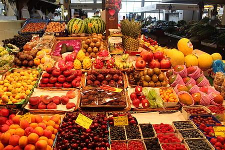 voće, tropsko voće, agrumi, voće, zdrav, tropskog voća, egzotične