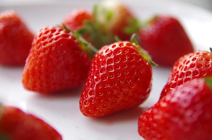 capsuni, fructe, proaspete