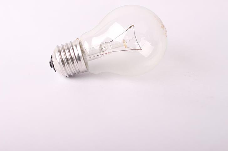 light bulb, lying, classic