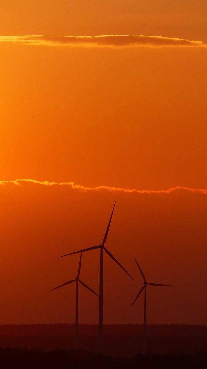 windräder, energia eòlica, energies renovables, energia, Tecnologia Ambiental, actual, energia eòlica