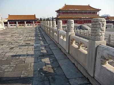 Museu del Palau Nacional, la ciutat imperial, marbre blanc, Àsia, Pequín, Xina - Àsia Oriental, arquitectura