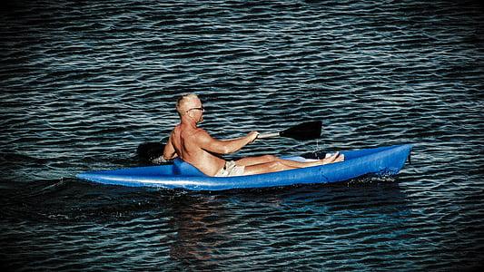 canoë, canoë-kayak, eau, sport, activité, aventure, Loisirs