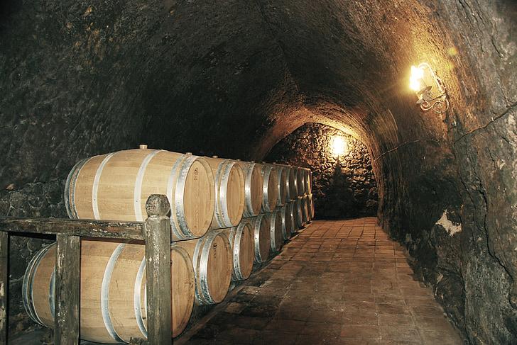 veinikelder, veini, koobas, Ismael arroyo winery