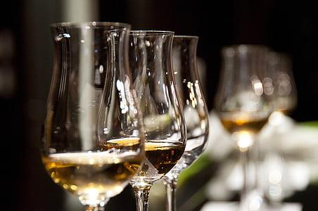 veiniklaasi, jook, veini, alkoholi, klaas, valge, jook