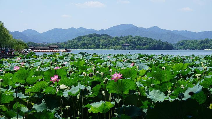 Västersjön, Hangzhou, Kina