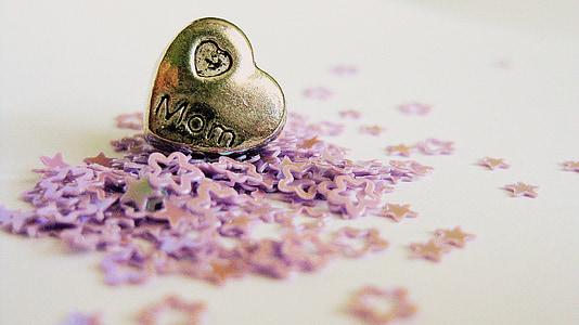 bintang-bintang, jantung, Cinta, Ibu, Ibu, Keluarga, bentuk