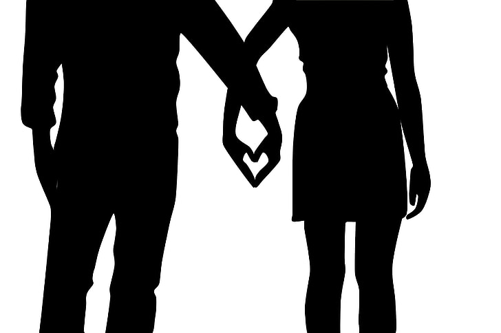 casal, shadow, in love, silhouette, romantic, love story, grooms