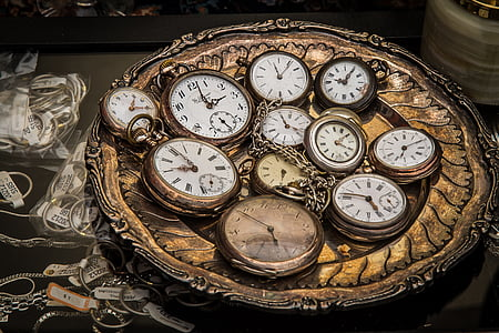 pulkstenis, kabatas pulksteni, kustība, laiks, Retro, laiks, kas norāda, laiks