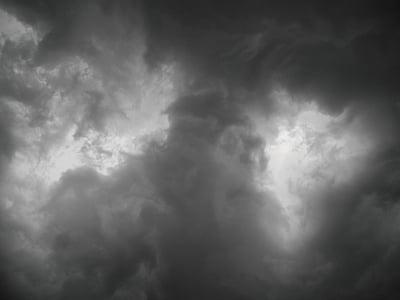 Audra, dangus, audros debesys, dangaus, debesys, emocionalus, tamsūs debesys