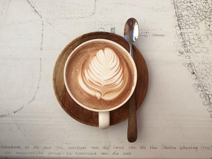 arsitektur, diseduh kopi, cappuccino, kopi, kedai kopi, Piala, secangkir kopi