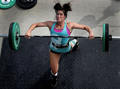 weights, lifting, power, female, gym, fitness, young