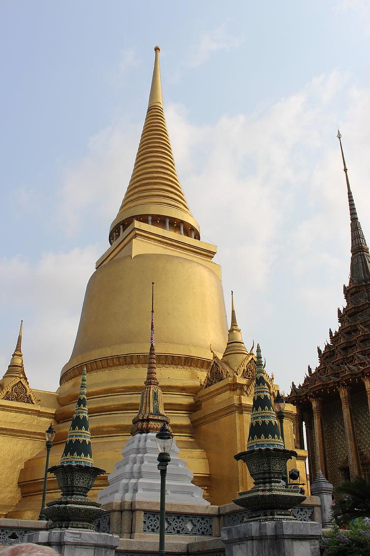 Thailand, Wat, Tempel, Buddhismus, Bangkok, Architektur