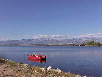 bota, Mar, l'aigua, paisatge, peix, Banc, barca de rems