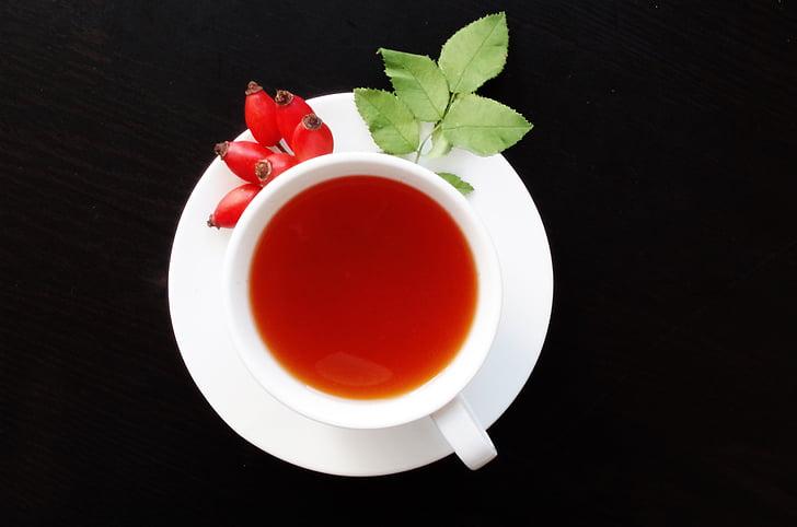 dart, frugter, Eglantine, te, efterår, sundhed, vitaminer