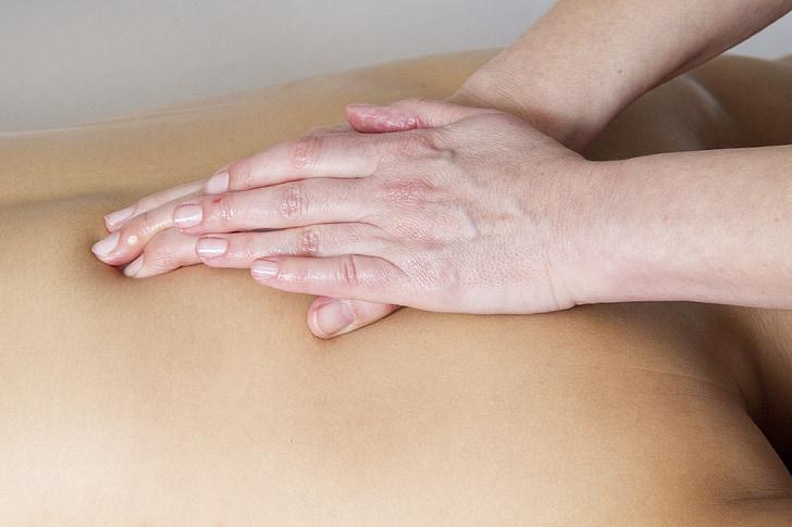 détente, massage, récupération, Boon, rupture, femmes, massant