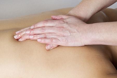 relaxació, massatge, recuperació, benedicció, descans, dones, el massatge