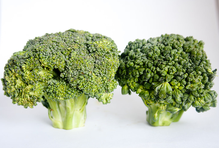 bròquil, verdures, Sa, aliments, dieta, verd, vegetariana