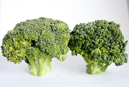 brokuły, warzywa, zdrowe, jedzenie, diety, zielony, wegetariańskie