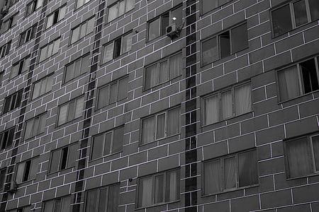 rumah, bangunan bertingkat, bangunan, jendela, Kota, perumahan, struktur