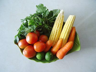 verdures, aliments naturals, aliments saludables, verdures fresques, fruites i verdures