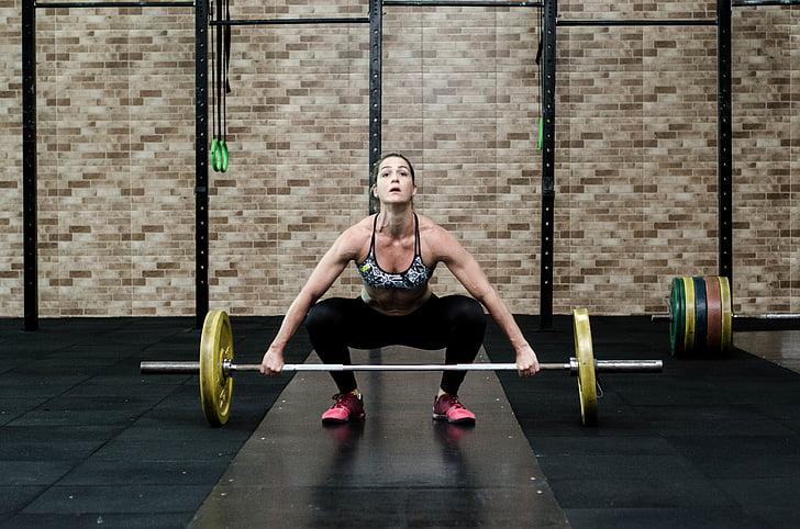 aktiv, voksen, idrettsutøver, vektstang, kroppen, Kroppsbygging, brawny