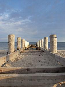 viļņlauži, Web, Baltijas jūrā, jūra, ezers, krasts, pludmale