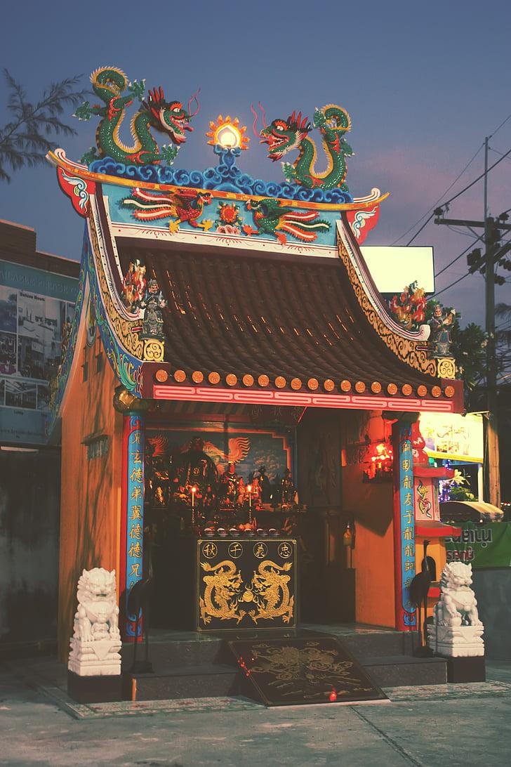 Thailand, Phuket, religieuze, reizen, Toerisme, vakantie, vakantie