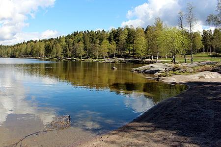 Oslo, Sognsvann, Norge, sjön, Nordmarka, VisitOSLO, resten