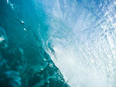vätska, Splash, vatten, våg kraschar, vågor