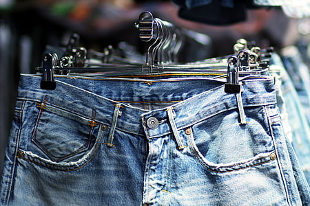 Jaffo, pantalons texans, basar, botiga, natges, roba, moda