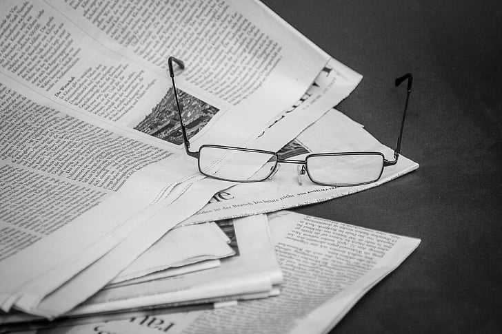 newspaper, read, information, news, inform, reports, newsprint