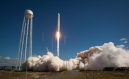 Вірджинія, Ракета, старту, вибух, простір, розвідка, подорожі