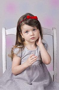 girl, baby, portrait, the little girl, childhood, photo, nicely