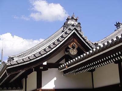 Kioto, Palau Imperial, cobertura, sostre, arquitectura, Àsia, temple - edifici