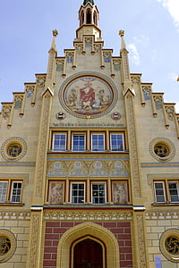 bad waldsee, architecture, historical building, historic building, facade, old town, pompous