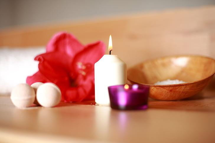 flor, Sauna, benestar, teràpia, fusta, dolent, relaxar-se