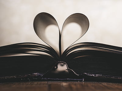 paber, Romantika, sümbol, Valentine, Armastus, raamat, päev