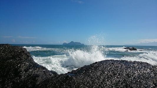 Ilan, landschap, de golven, zee, Golf, Splash, natuur