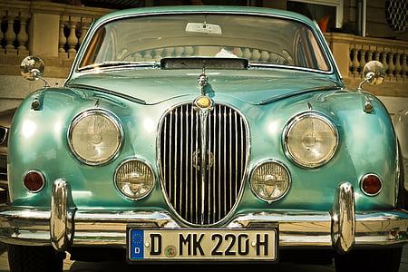 auto, jaguar xk, automoció, Oldtimer, vehicle, vell, clàssic